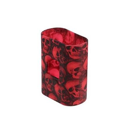 Silicon Case AL85 Skull Red