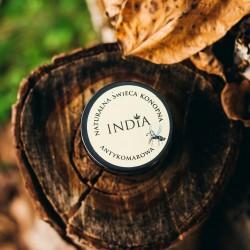 India Świeca konopna...